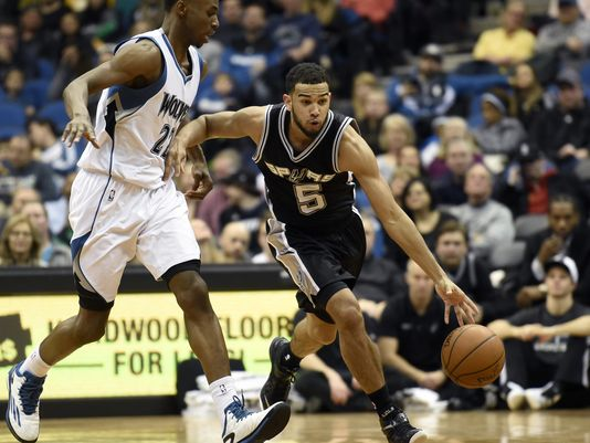 Cory Joseph and Andrew Wiggins