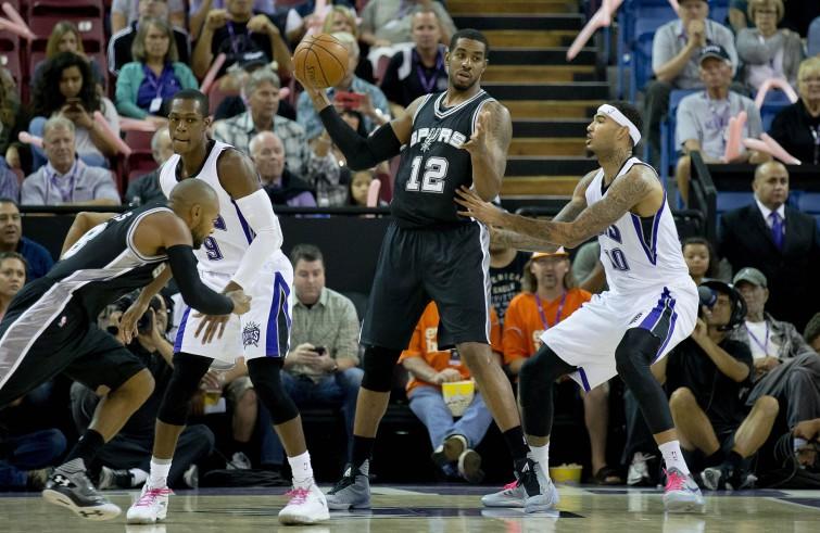 LaMarcus Aldridge, San Antonio Spurs